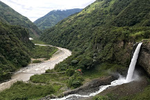 Cascada el Manto de la Novia, Banos, Ecuador