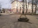 Географический центр Европы на фото Полоцка