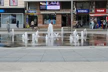 Ante Starcevic Square, Osijek, Croatia