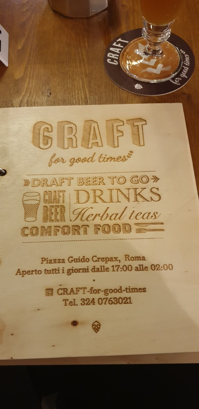 Craft - for Good Times
