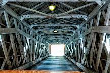 West Cornwall Covered Bridge, West Cornwall, United States