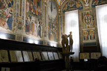 Biblioteca Piccolomini, Siena, Italy