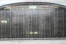 My Lai Massacre - Son My Memorial, Quang Ngai, Vietnam