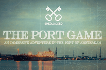 The Port Game, Amsterdam, Holland