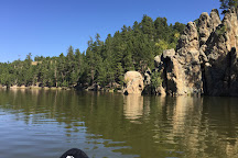Center Lake, Custer, United States