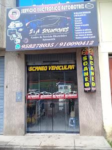 GRUPO S & A SOLUCIONES ESCANEO VEICULAR 1