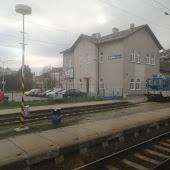 Железнодорожная станция  Vyskov na Morave