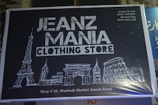 Jeanz Mania Clothing Store