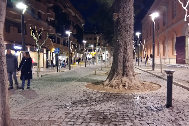 Plaza Julian Romea, Murcia, Spain