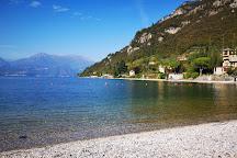 Riva Bianca Beach, Lierna, Italy