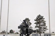 The National Pony Express Monument, Sidney, United States