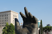 La Mano de Botero, Madrid, Spain