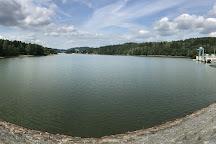 Lipno Dam (Vodni Nadrz Lipno), Lipno nad Vltavou, Czech Republic