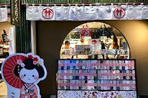 Arashiyama Station Hannari Hokkori Square, Kyoto, Japan