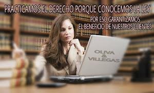 OLIVA & VILLEGAS ESTUDIO JURIDICO 0
