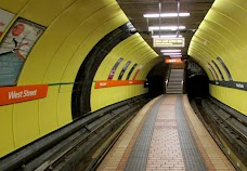 West Street SPT Subway Station glasgow