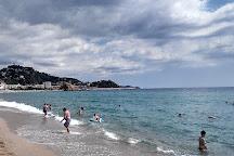 Playa S'Abanell, Blanes, Spain