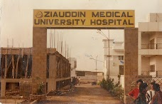 Ziauddin Pharmacy College karachi