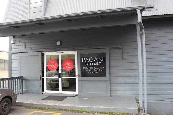 Pagani - Auckland Outlet Store, 81A Portage Rd, New Lynn, Auckland
