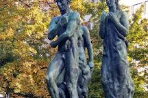 Beethoven-Denkmal, Frankfurt, Germany