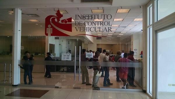 Instituto De Control Vehicular 52 81 2020 8770 Calle