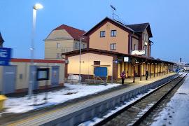 Железнодорожная станция  Trebic