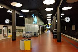 Железнодорожная станция  Arlanda Norra