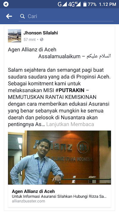 Agen PT. Asuransi Allianz life Indonesia