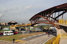 Puente de Guadua, Bogota, Colombia
