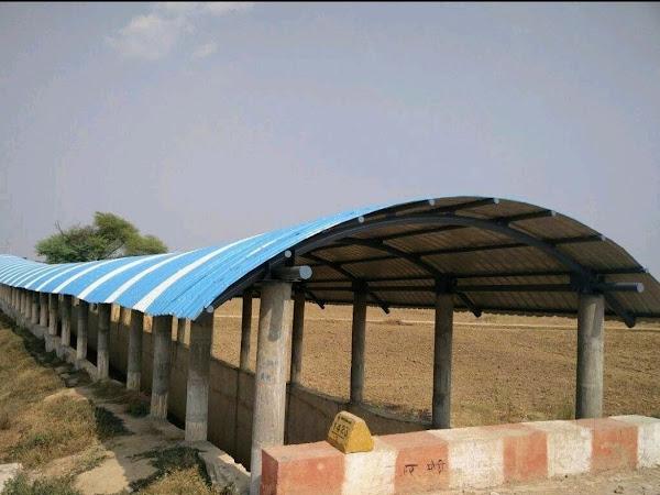 Amar Fiber Sheet Roof Shed Fabricators