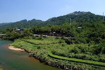 Wanggu Waterfall, Pingxi, Taiwan