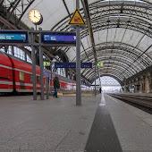 Станция  Dresden Hauptbahnhof