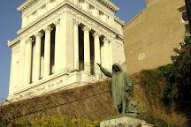Monumento a Cola DI Rienzo, Rome, Italy