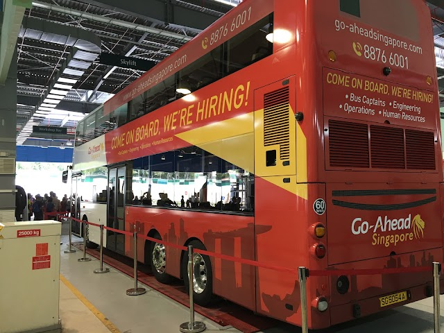 Singapore loyang bus depot