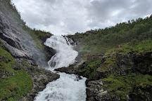 Kjosfossen Waterfall, Myrdal, Norway