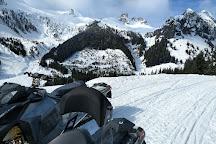 Blackcomb Snowmobile, Whistler, Canada