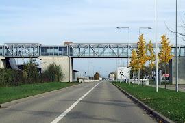 Железнодорожная станция  Gare de Entzheim Aéroport