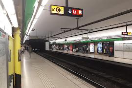 Станция  Plaça Catalunya
