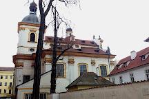 Holy Trinity Church in Podskali, Prague, Czech Republic