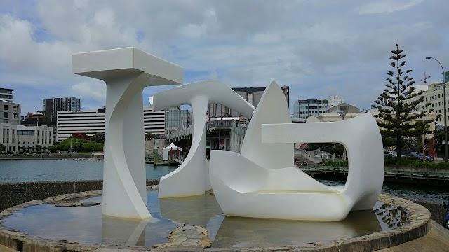 The Albatross Fountain