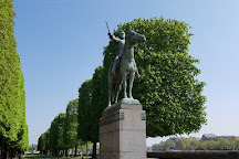 Statue Equestre De Simon Bolivar, Paris, France