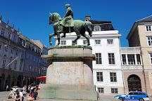 Christian X Statuen, Copenhagen, Denmark
