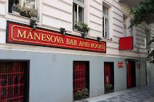 Bar and Books Manesova, Prague, Czech Republic