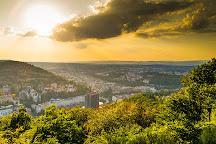 Vyhlidka Tri Krize, Karlovy Vary, Czech Republic