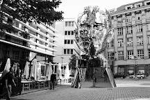 Franz Kafka Monument, Prague, Czech Republic