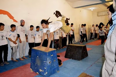 Afghanistan National Parkour Federation فدراسیون ملی پارکور