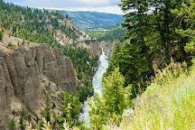 Calcite Springs Overlook, Yellowstone National Park, United States