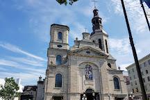 Basilique Cathedrale - Notre-Dame-de-Quebec, Quebec City, Canada