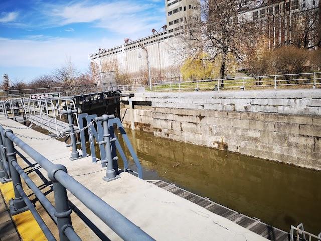 Canal Lachine - Écluse du Vieux-Montréal