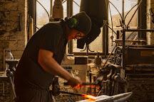 West Country Blacksmiths at Allerford Forge, Allerford, United Kingdom
